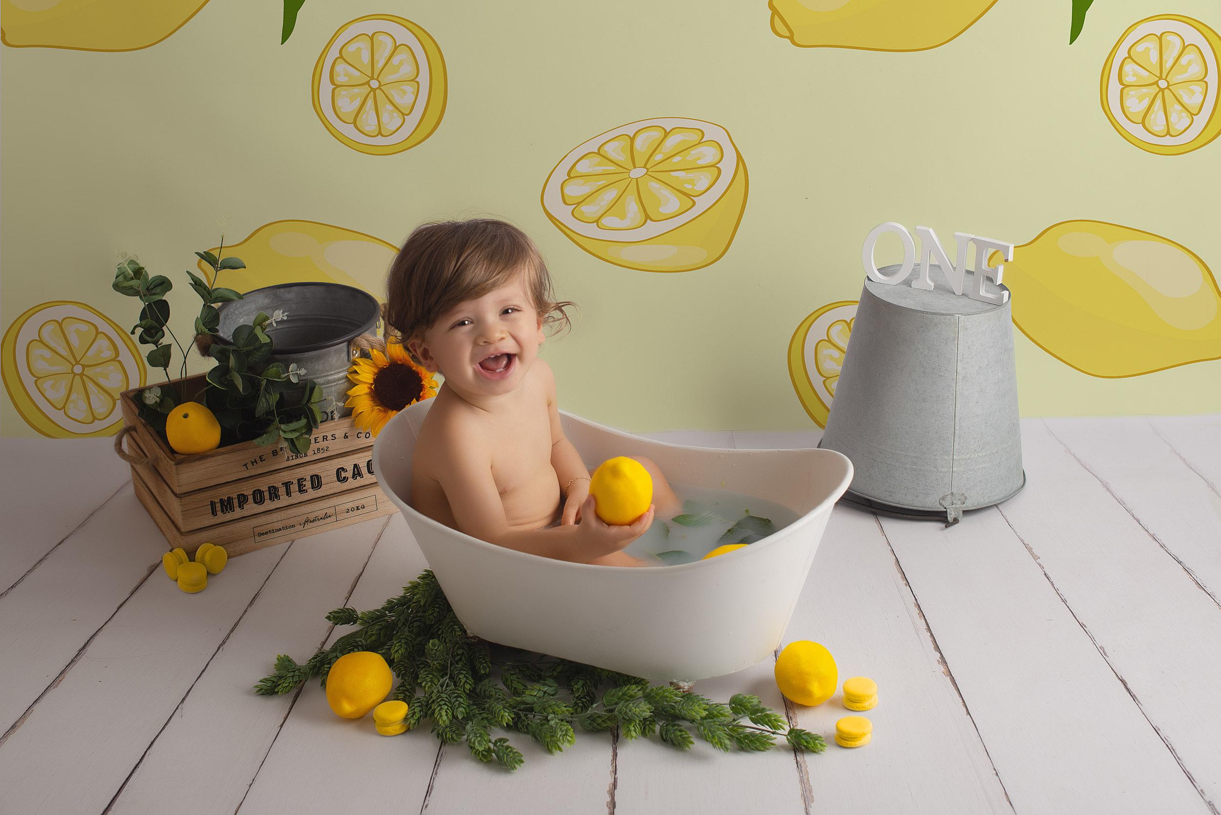 séance photo bain de lait