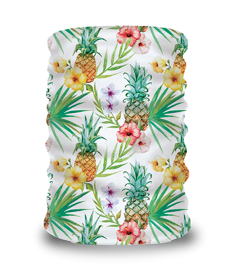 Pineapples & Flowers
