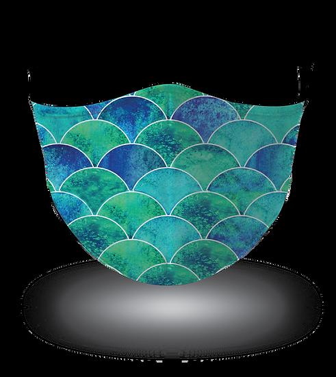 Mermaid Tail Blue