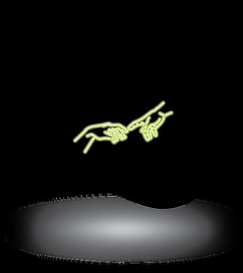 Neon Michelangelo