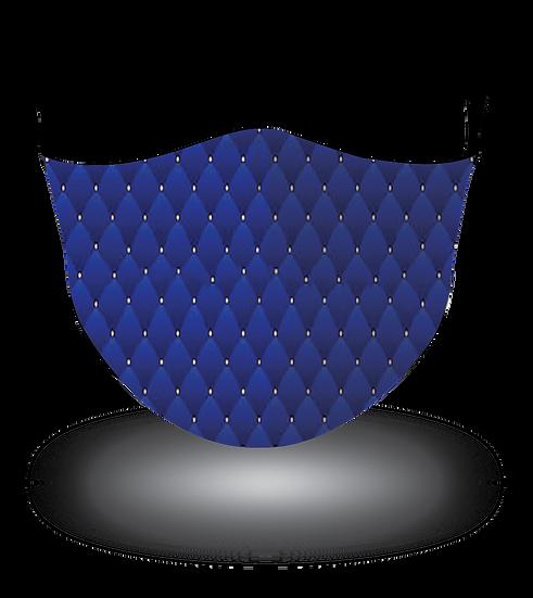 Upholstery Black Blue