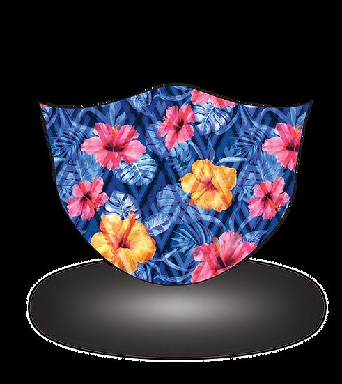 Tropical Blue Florals