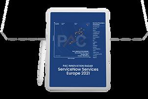 PAC - RADAR ServiceNow Services Europe 2021
