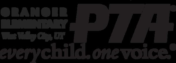 Granger El PTA Logo BLACK.png