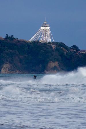 江の島灯台ライトアップ