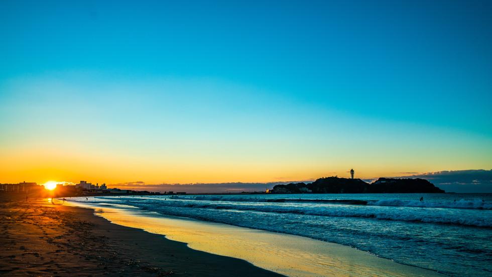日の出 江の島