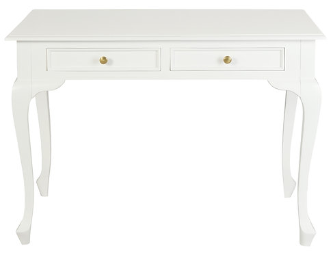 Queen Ann 2 Drawer Desk
