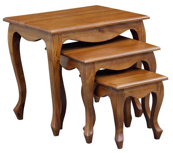 Queen Ann Nest of Tables
