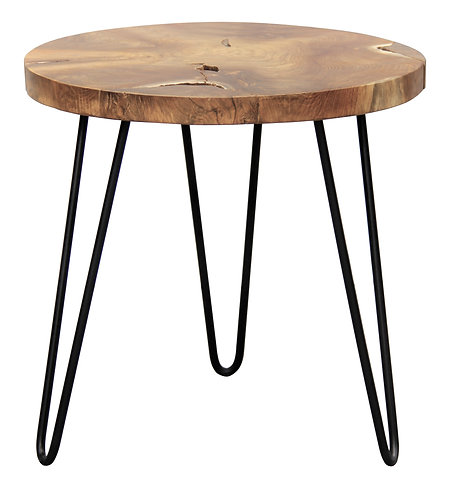 NATURA Recycled Teak Side Table