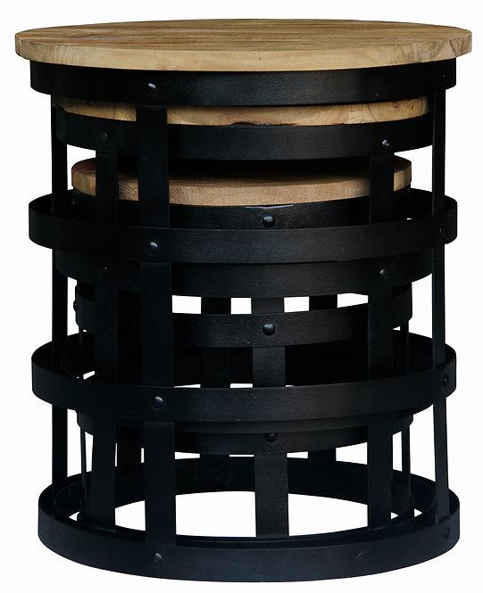 NATURA Nut Nesting Tables