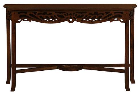 Jepara Carved Sofa Table 120cm
