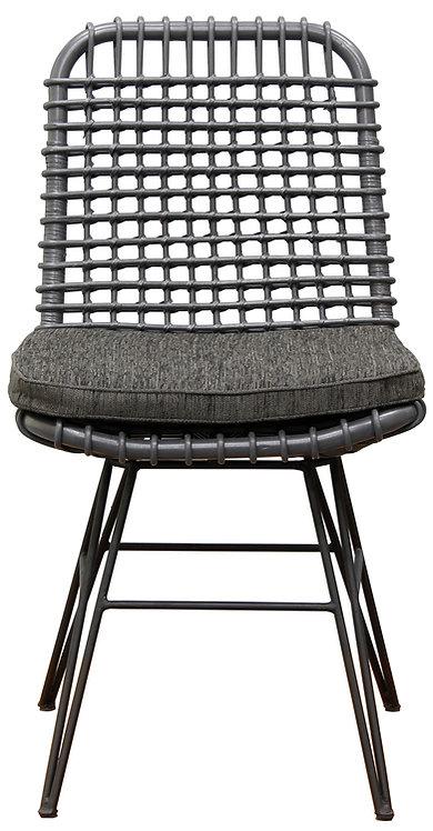 Utopia Rattan Dining Chair (Grey)