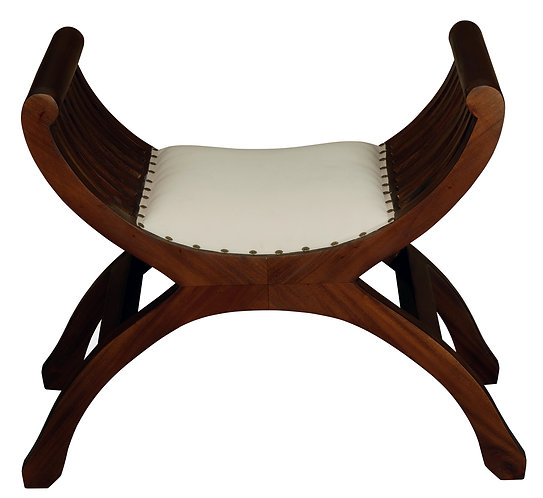 Single Seater Stool With Cushion