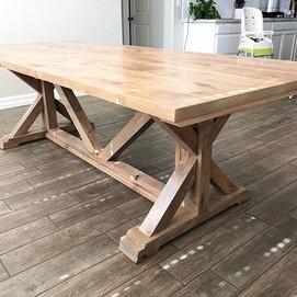 Our most popular Farmhouse Table-Chunky