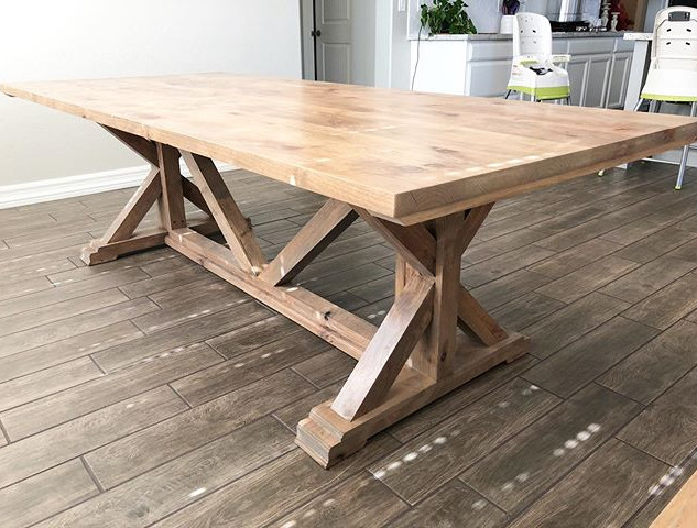 Our most popular Farmhouse Table-Chunky