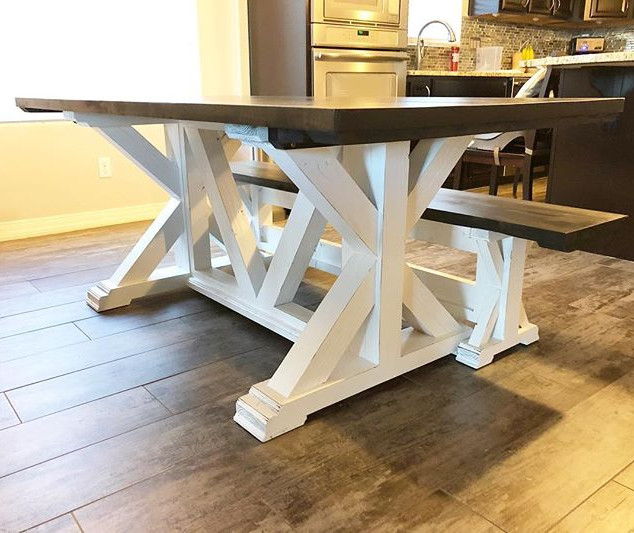 We delivered this beautiful table and be