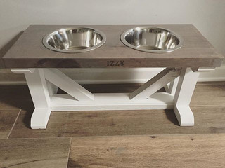 We think Izzy is going to love eating in style! 🐶