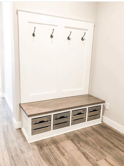 Mud Room Storage Bench