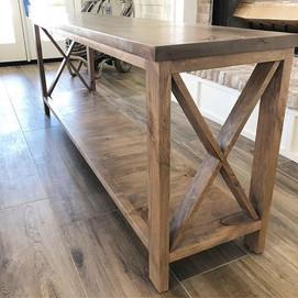 Our X Console Table 🤗👌🏻_._._._#farmho