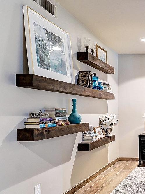 Floating Box Shelves/Mantle