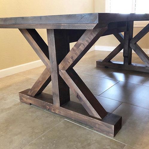 Modern X Farmhouse Table