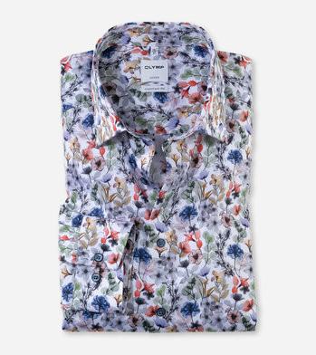 Chemises imprimées pour Hommes idéales par ses grandes chaleurs (masquées les cernes sous les bras)