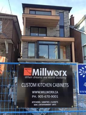 New modern home in Bloor West Village