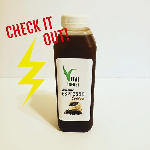 4-pak Cold Brew Espresso Coffee