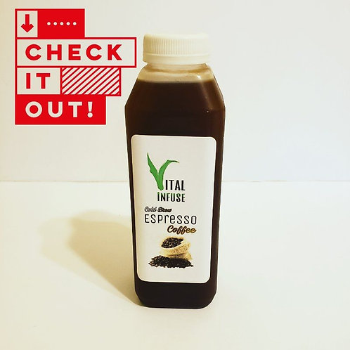 COLD BREW ESPRESSO COFFEE