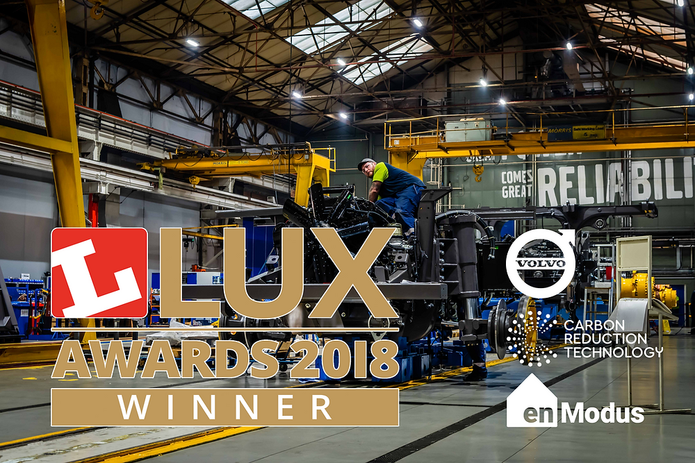 Carbon Reduction Technology scoops a win at the Lux Awards