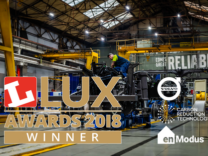 A win for CRT, Volvo and enModus at the Lux Awards