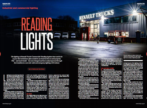 Renault Trucks, Reading: A Lighting Journal Must-Read
