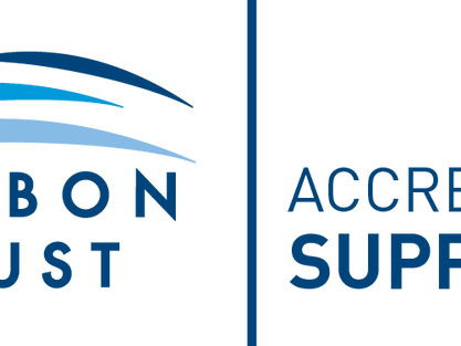 Carbon Reduction Technology accredited by the Carbon Trust