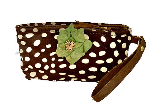 Spotted Wristlet