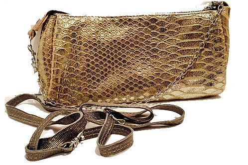 Silver snake bag - L-8