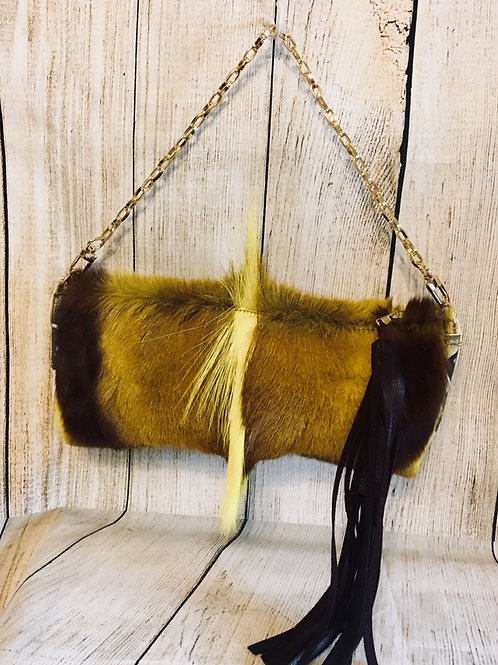 Small Springbok Hide Purse