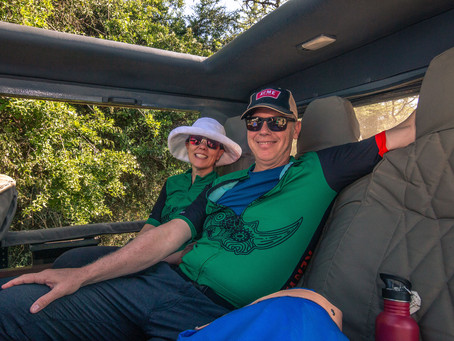 """A trip of a lifetime to Kenya!"" by guest Leslie Hauser and Karl Wuesthoff"