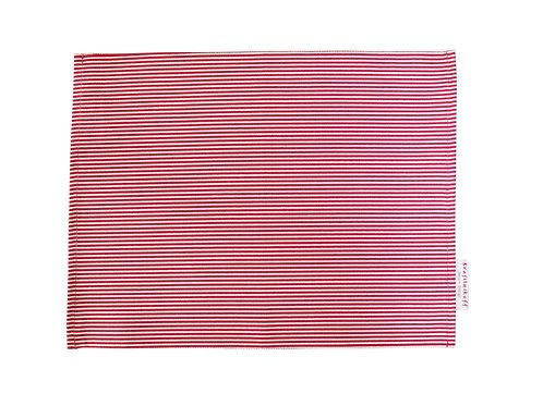 Krasilnikoff - Tischset - Pinstripe red