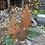 """Thumbnail: Edelrost - """"Tanne im Topf"""" Weihnachten stehend groß"""