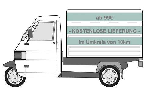 Kostenlose Lieferung ab 99€ (Umkreis von 10km)