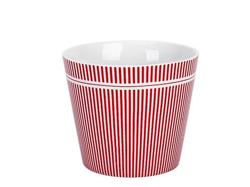 !!! Neu Krasilnikoff Becher Happy Cup Pinstripe