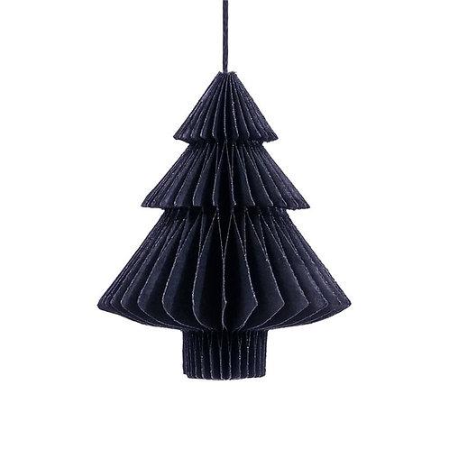 """Weihnachten """"Tannenbaum 10cm"""" Tannenbaumschmuck blau"""