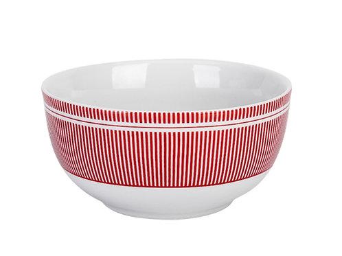Krasilnikoff - Happy Bowl Pinstripe red