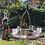 Thumbnail: Edelrost - Kranzhänger mit Platte/Dekokranz