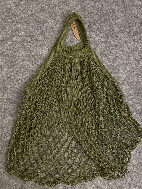 """Netztasche """"Obsttasche"""" Einkaufsnetz grün"""