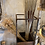 """Thumbnail: Edelrost - Metallsäule """"Volante"""" (Holzlager/Bepflanzung) 120cm"""