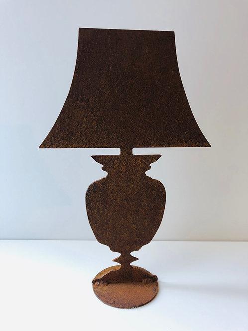 """Edelrost - """"Lampe"""" rostig"""