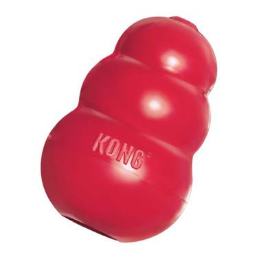 kong pet classic vermelho animal natural