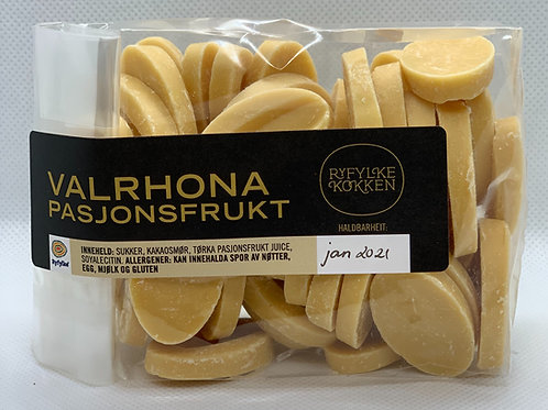 Valrhona Pasjonsfrukt sjokolade 200g