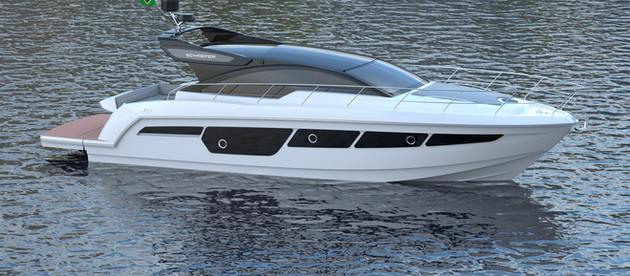 Exclusivo: conheça a nova Schaefer 510 Sport, estrela do São Paulo Boat Show